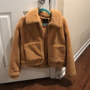 Urban Outfitters Teddy Coat (M)